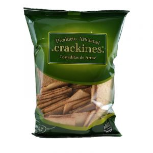 Galletitas Crackines de Arroz x 120 g SIN TACC