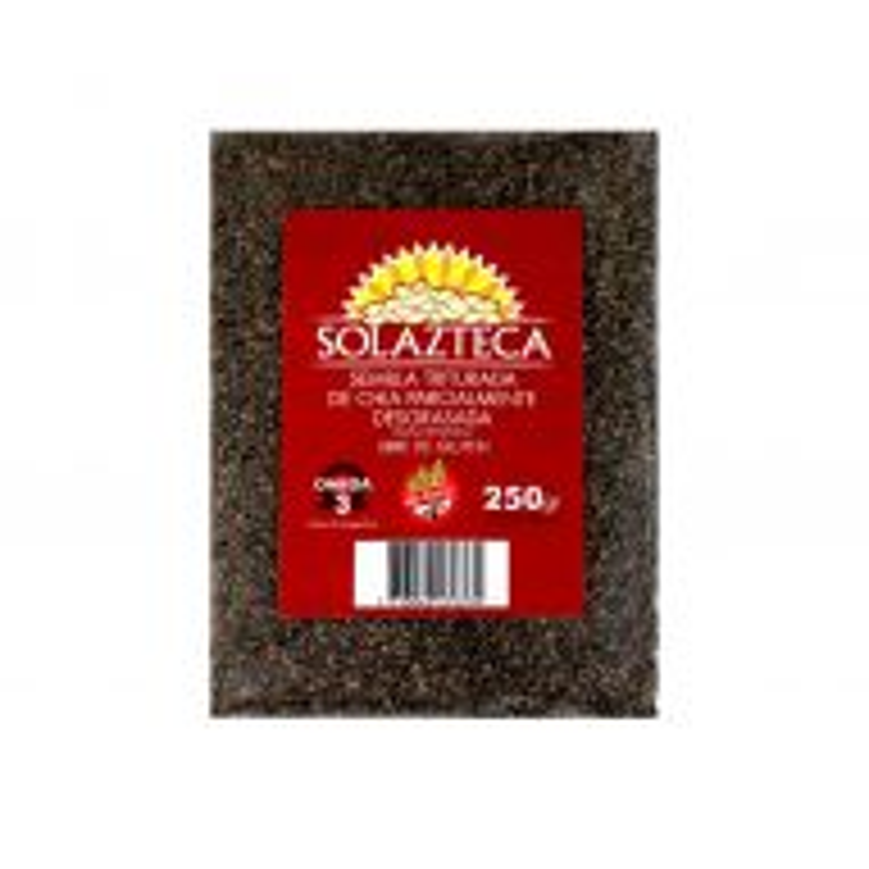 Semilla de Chia Triturada Sol Azteca x 250 g SIN TACC