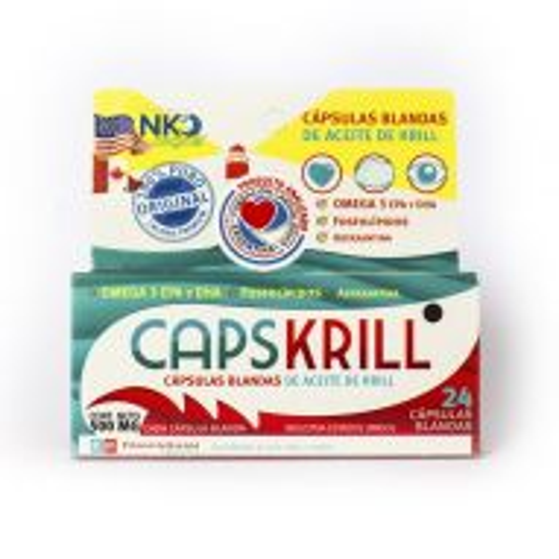Aceite Capskrill Blandas Framingham Pharma x 24 Cápsulas